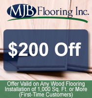 $200 Off, Offer Valid on Any Wood Flooring Installation of 1,000 Sq. Ft. or More (First-Time Customers)